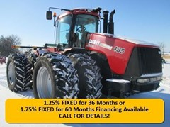 Tractor For Sale 2010 Case IH Steiger 485 , 485 HP