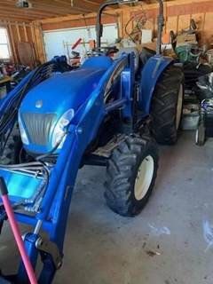 Tractor - Utility For Sale 2005 New Holland TC55DA , 46 HP
