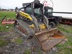 Skid Steer-Track For Sale New Holland C185 , 78 HP