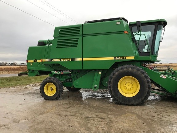 1994 John Deere 9500 Combine For Sale