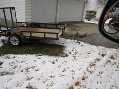 Equipment Trailer For Sale Misc 4'W x 8'L Steel Utility