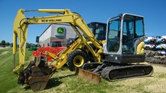 Excavator-Mini For Sale 2013 New Holland E55BX