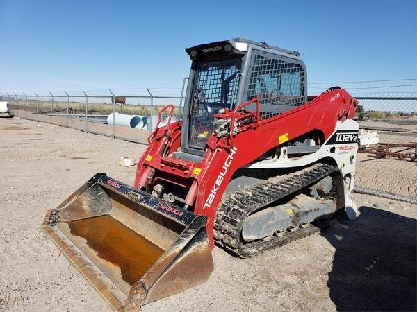 2016 Takeuchi TL12V2 Skid Steer For Sale