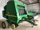 Baler-Round For Sale:  2002 John Deere 557