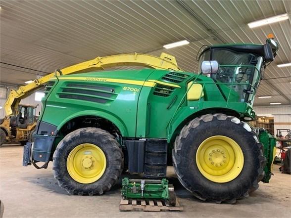 2016 John Deere 8700i Forage Harvester-Self Propelled For Sale
