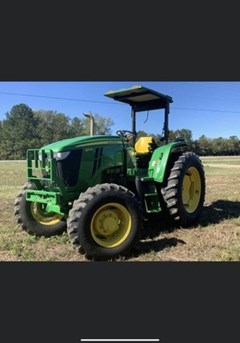 Tractor - Utility For Sale 2014 John Deere 6115D , 115 HP