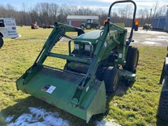 Tractor - Compact Utility For Sale 2002 John Deere 4010 , 20 HP