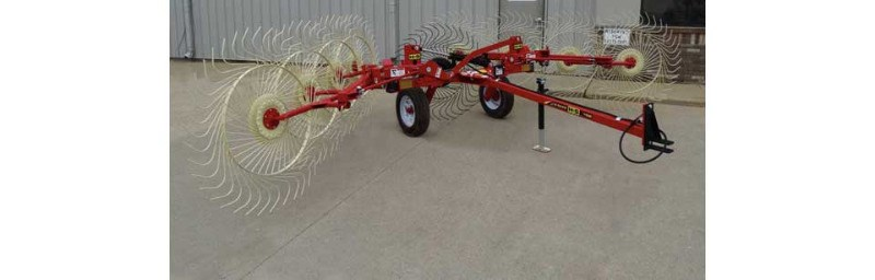 2019 H & S 1110 Hay Rake-Unitized V Wheel For Sale