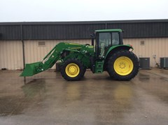 Tractor - Row Crop For Sale 2018 John Deere 6145M Cab , 145 HP