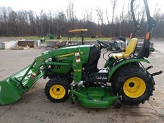 Tractor - Compact Utility For Sale 2015 John Deere 2025R