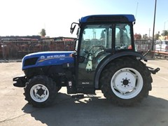 Tractor For Sale New Holland T4.85V w/NH Cab , 87 HP