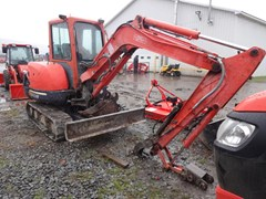 Excavator-Mini For Sale 2005 Kubota KX121-3