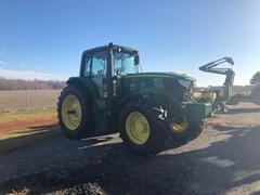 Tractor - Row Crop For Sale 2015 John Deere 6140M , 140 HP