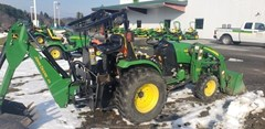 Tractor - Compact Utility For Sale:  2009 John Deere 2520 , 17 HP
