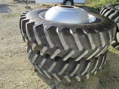 Wheels and Tires For Sale 2010 Case IH 520/80R42 20.8 R42 COMBINE DUALS W/AXLE EXTS