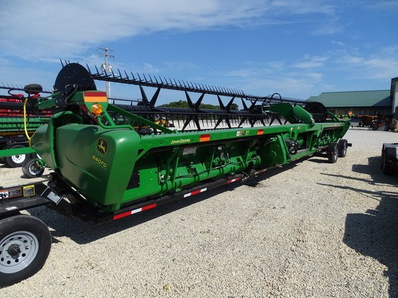 2016 John Deere 640FD Header-Draper/Flex For Sale