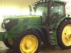 Tractor - Row Crop For Sale 2013 John Deere 6140R , 140 HP