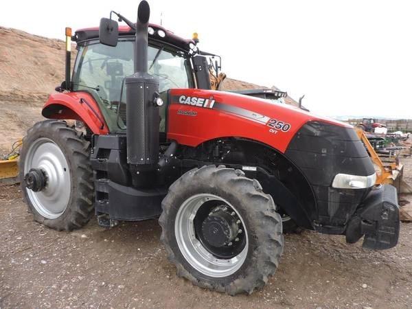 2017 Case IH MAGNUM 250 CVT Tractor For Sale