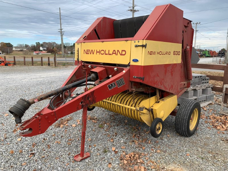 New Holland 630 Baler-Round For Sale