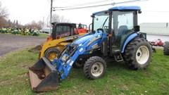 Tractor - Utility For Sale 2009 New Holland Boomer 3045 CVT Cab , 45 HP