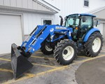 Tractor For Sale: 2016 New Holland T4.100, 100 HP