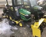 Riding Mower For Sale: 2018 John Deere X390, 22 HP