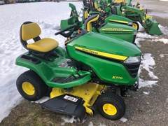 Riding Mower For Sale:  2018 John Deere X370 , 18 HP