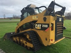 Skid Steer-Track For Sale 2012 Caterpillar 299d