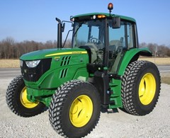 Tractor - Utility For Sale 2019 John Deere 6110M , 110 HP