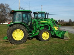 Tractor - Utility For Sale 2011 John Deere 5105M , 105 HP