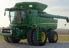 Combine For Sale 2012 John Deere S690