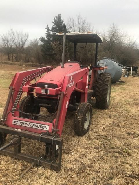 1998 Massey Ferguson 4225 Tractor For Sale