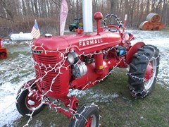 Tractor - Utility For Sale 1941 Farmall A , 20 HP