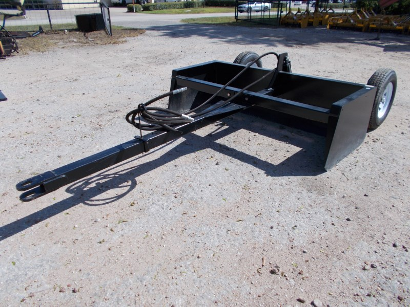 Other New HD pull type hyd. box blades / land leveler Box Blade Scraper For Sale
