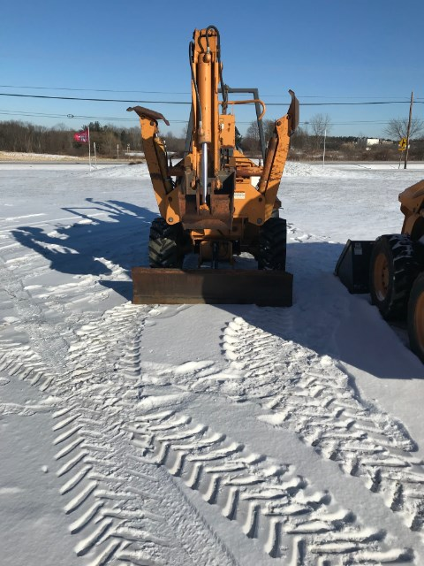 1999 Case 460 Trencher-Rubber Tires For Sale