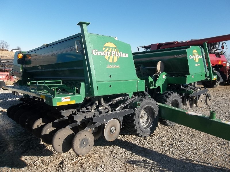 2009 Great Plains 3S-3000 Grain Drill For Sale