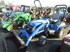 Tractor - Compact Utility For Sale 2006 New Holland TZ25DA , 25 HP