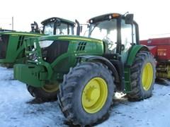 Tractor - Row Crop For Sale 2017 John Deere 6145M , 145 HP