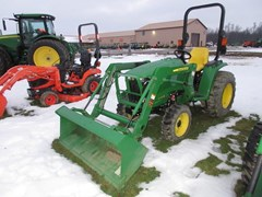 Tractor - Compact Utility For Sale 2016 John Deere 3032E , 32 HP