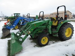 Tractor - Compact Utility For Sale 2017 John Deere 4066M , 65 HP