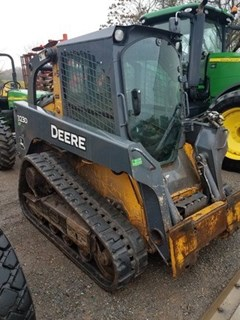Skid Steer-Track For Sale 2012 John Deere 323D