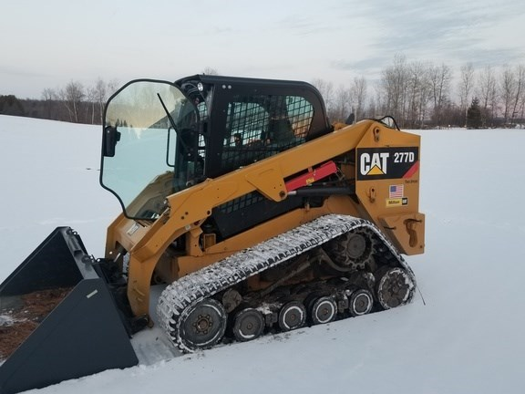 2014 Caterpillar 277D Skid Steer-Track For Sale