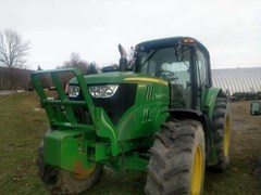 Tractor - Row Crop For Sale 2013 John Deere 6140M , 140 HP