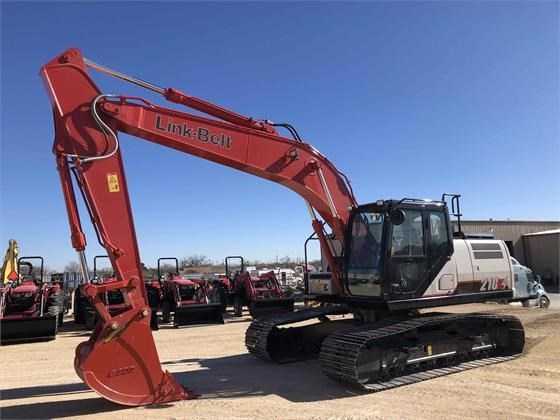 Link Belt 210X4 Excavator-Track For Sale