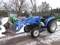 Tractor - Compact Utility For Sale 2002 New Holland TC45 , 45 HP