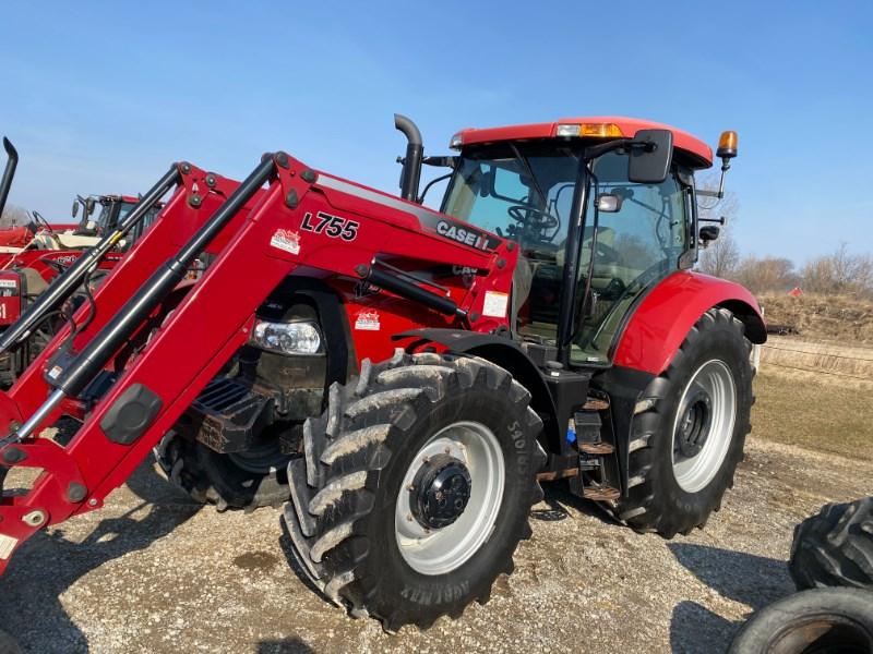 2015 Case IH Maxxum 125 MC Tractor For Sale