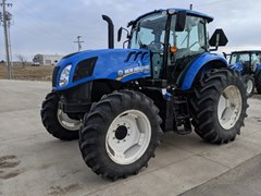 Tractor For Sale 2018 New Holland TS6.120 , 119 HP