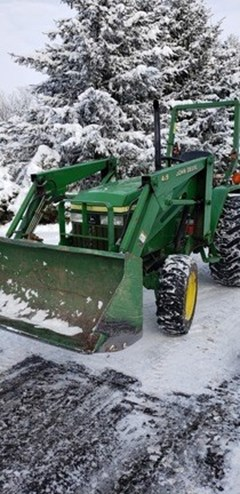 Tractor - Compact Utility For Sale 2003 John Deere 790 , 30 HP