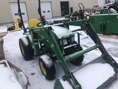 Tractor - Compact Utility For Sale:  2004 John Deere 4110 , 20 HP