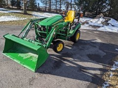 Tractor - Compact Utility For Sale 2010 John Deere 1026R , 26 HP